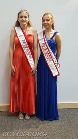 Miss Carroll County Fire Prevention is Taylor Blizzard from New Windsor  first runner-up is Kerrigan Spenner from Hampstead.