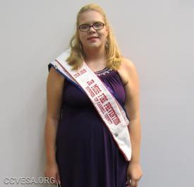 Bri Gaigalas; Jr. Miss New Windsor, and runner up Jr. Miss Carroll County